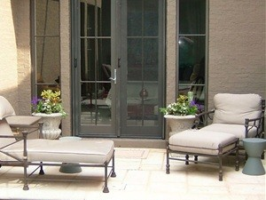 Exterior Double Retractable Screen from Mirage