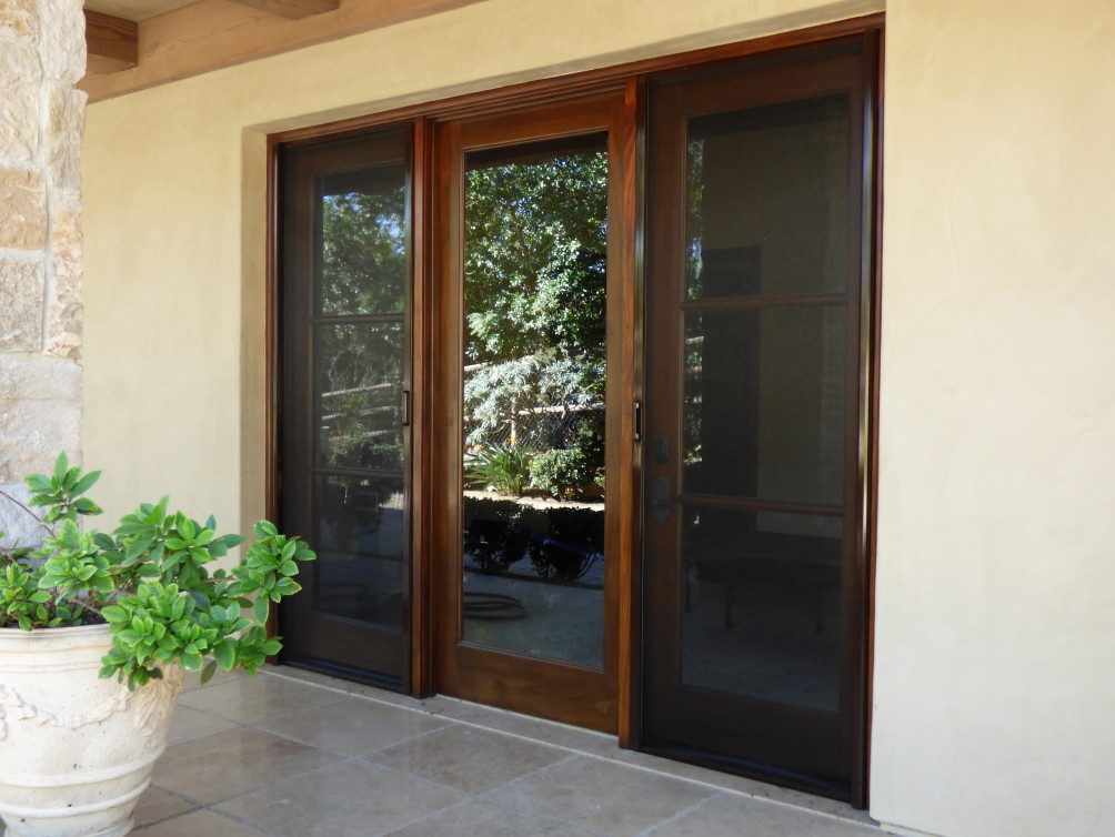 Mirage Single Retractable Screen Doors