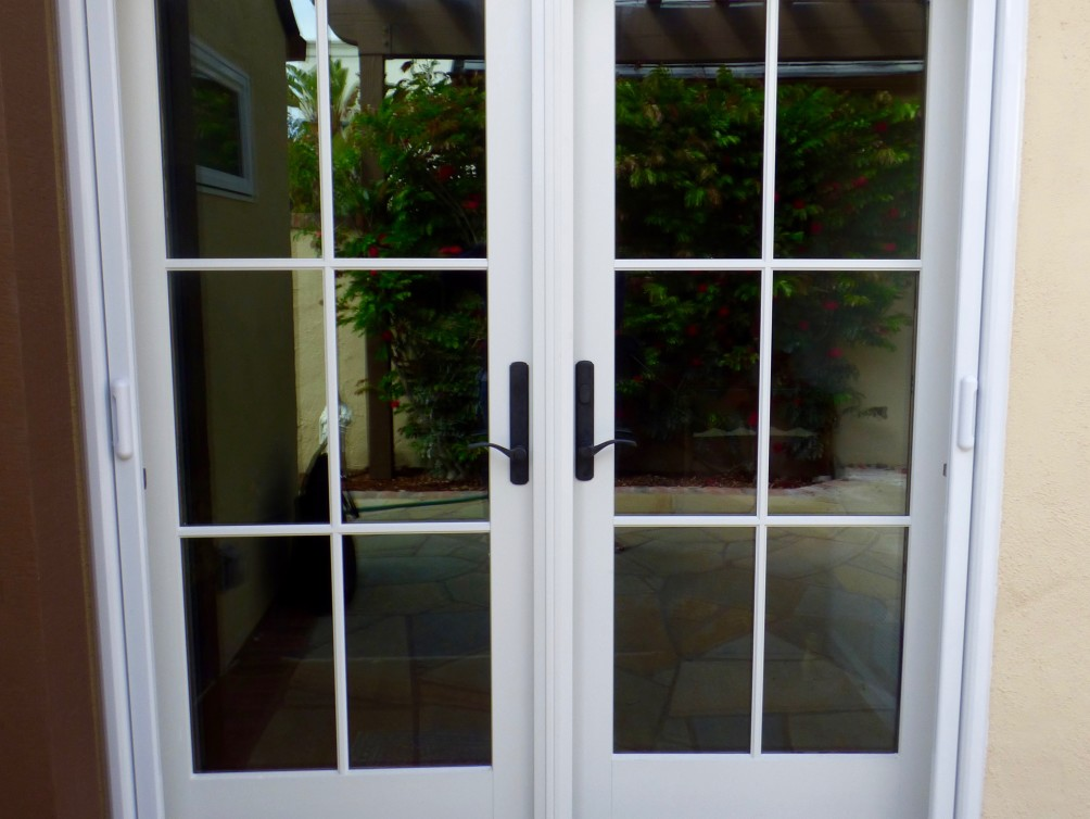 Double French Door Screen