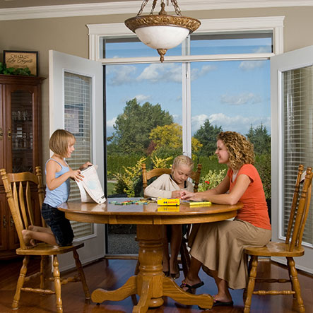 Mirage Double French Door Retractable Screen