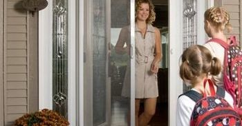 Single Front Retractable Screen Door from Mirage